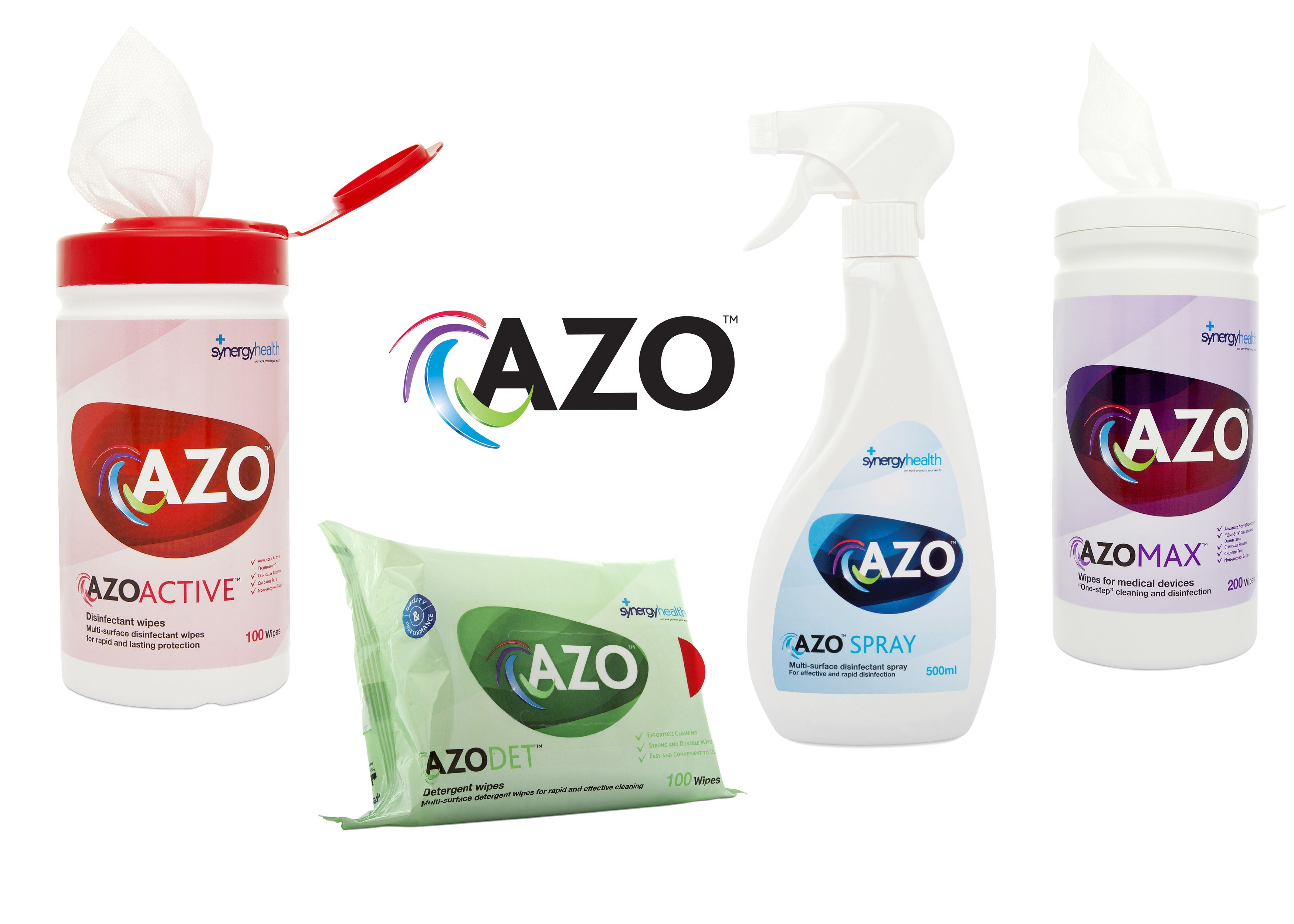 The new Generation of Azo™ Medical Device Disinfectant Wipes at Cleanroomshop.com