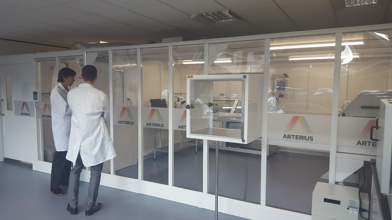 Connect 2 Cleanrooms support Pre-clinical and Clinical trials for ArterioSorb™