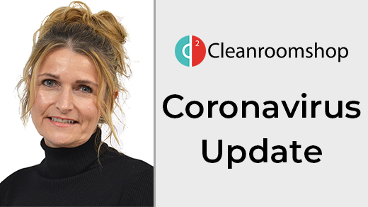 Coronovirus Update - PPE Products