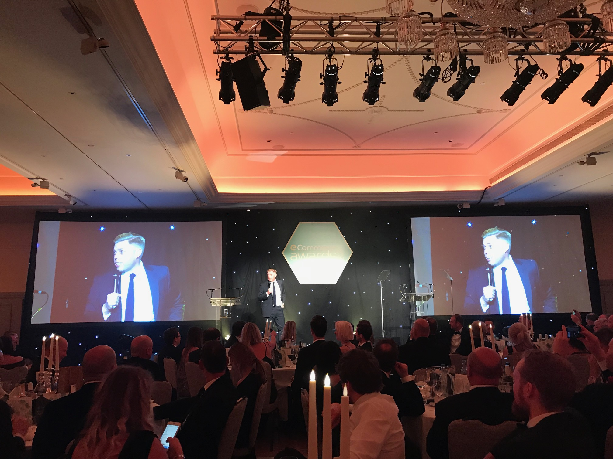 Cleanroomshop at the eCommerce Awards for Excellence 2017