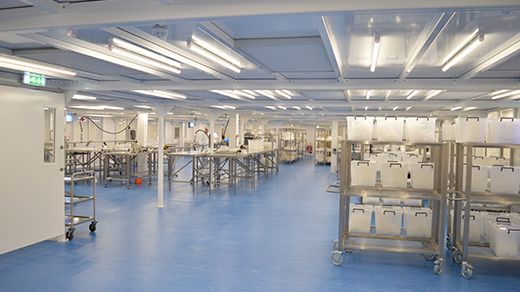 Custom Furniture Cleanroom Fit-out