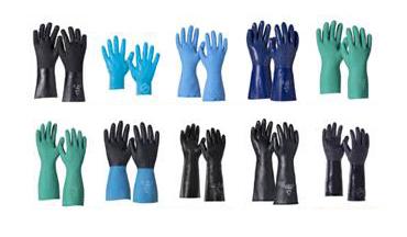 New Range: Tychem Chemical Protective Gloves