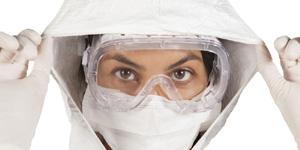 Protective Eyewear Cleanroom Goggles & Earplugs