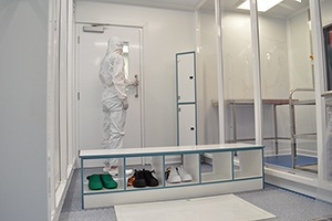 Sealwise PVCU Cleanroom Furniture