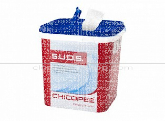 S.U.D.S Multipurpose Wipe - Light - 2 ply  White (1 case)