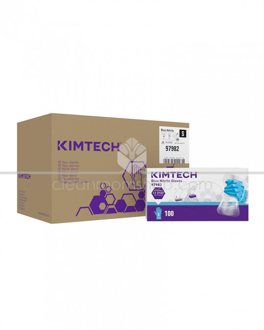 KIMTECH * BLUE NITRILE Gloves - 25 cm
