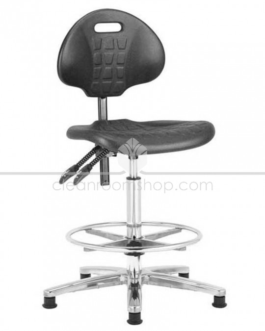 Budget PU High Cleanroom Chair