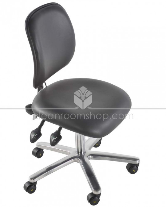 ESD Vinyl Low Chair with Footring