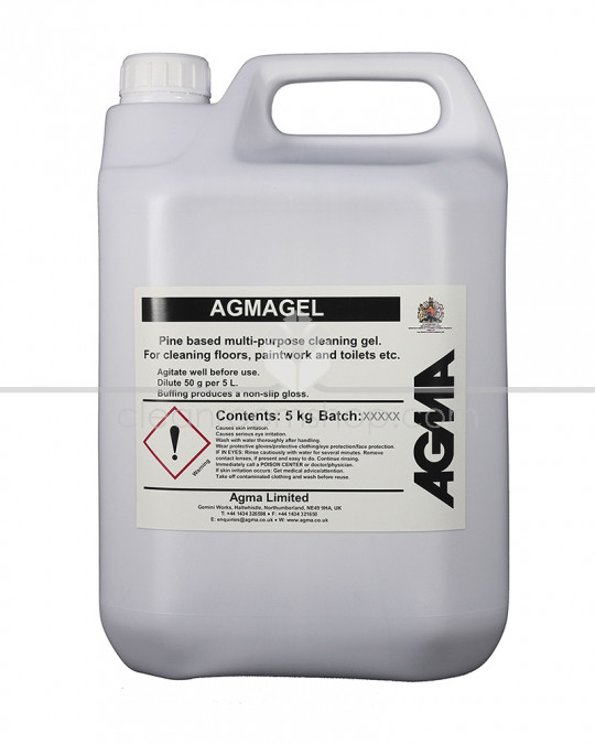 Agmagel Hard Surface Cleaner and Polish 4 x 5L