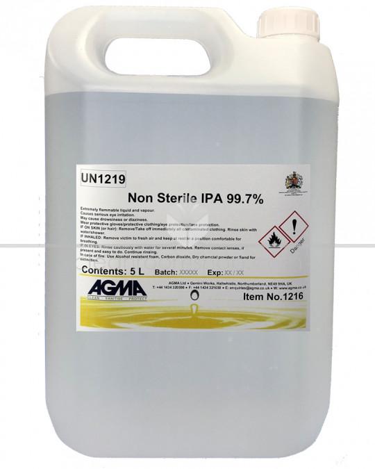 Agma Non-sterile 99.7%  IPA Spray 4 x 5L