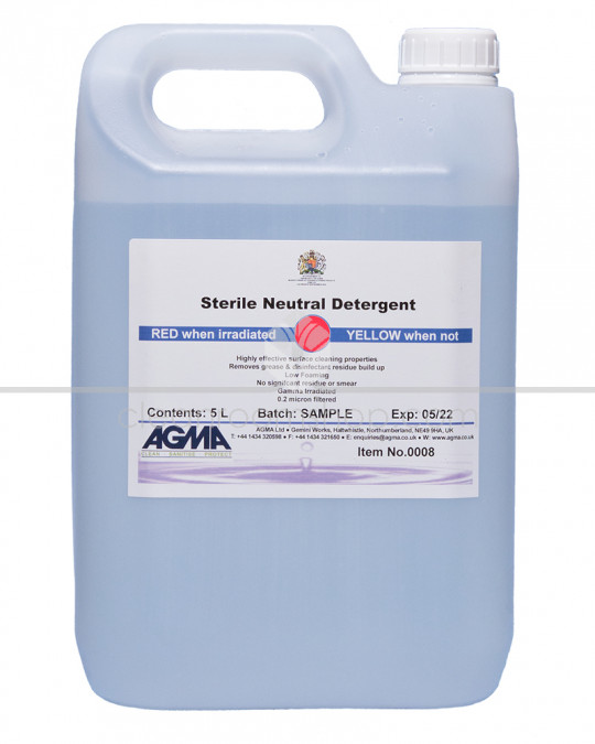 Agma Sterile Neutral Detergent 2 x 5L