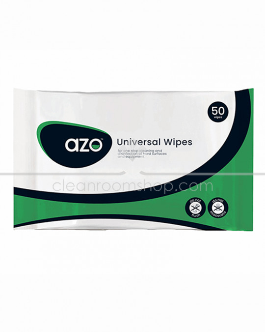 Azo™ Universal Wipes 50 Pouch CE - Case of 30
