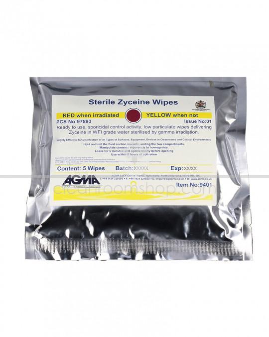 Agma Sterile Zyceine in WFI wipes 68gsm 10 x 5 wipes