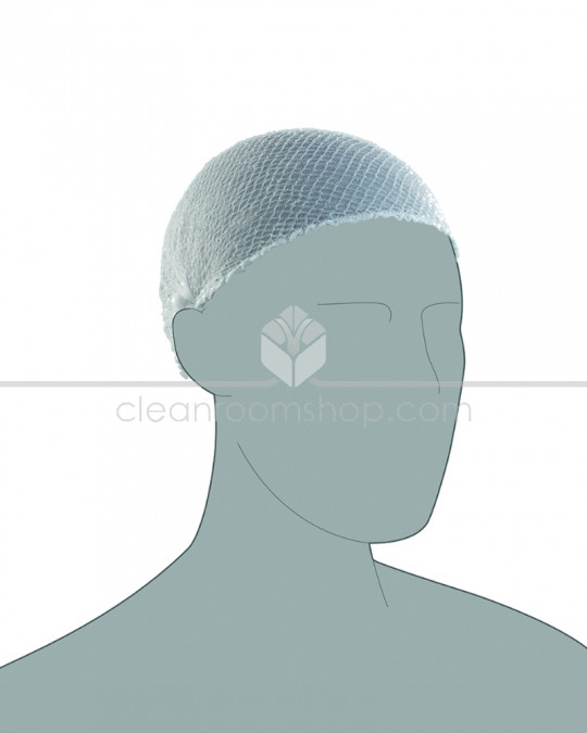 PAL Hairnet - Heavyweight White