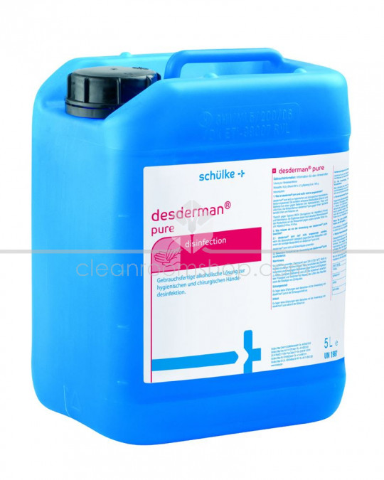 Desderman Pure Alcohol Hand Liquid - 5L Canister