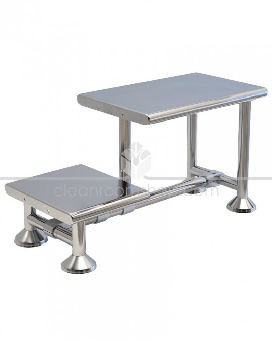 Electropolished Stainless Steel Cleanroom Bench - 600mm