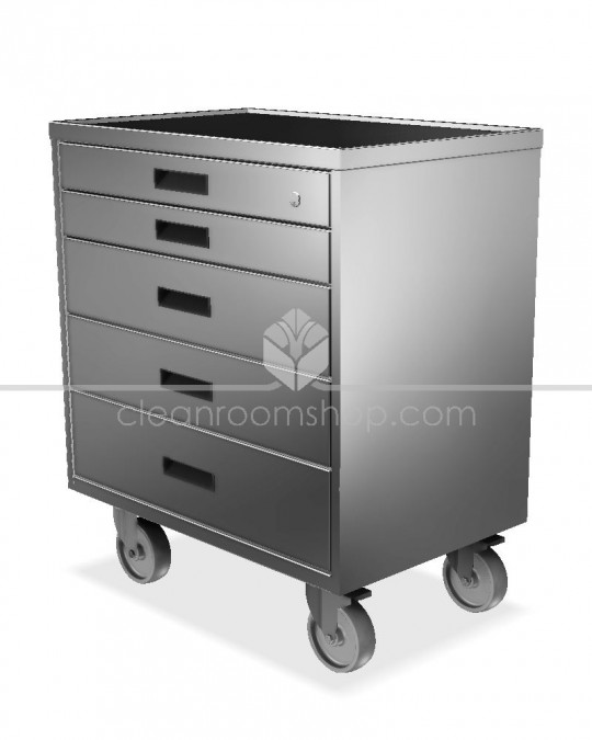 Electropolished S/S Drawer Unit/Tool Cart