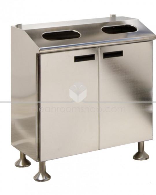 Electropolished S/S Garment Disposal Cabinet
