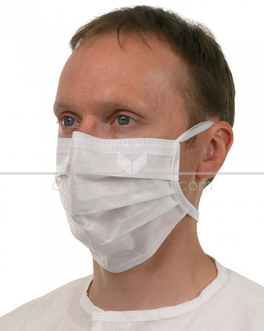 KIMTECH PURE* M3 Sterile Face Mask w/Ties 23 cm