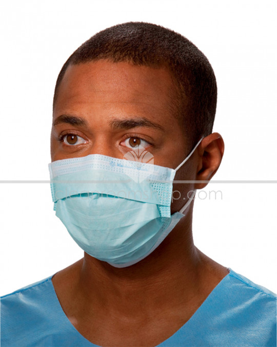 KIMTECH SCIENCE* Pleated Face Mask Blue