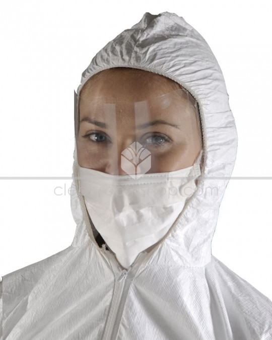 Face Mask - Sterile with Visor - Ear Loops - Pack of 25