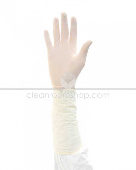 "Disposable Nitrile Gloves 16"" Sterile - N-Plus"