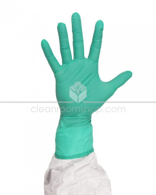 "Disposable Nitrile Gloves 12"" Sterile - Emerald"
