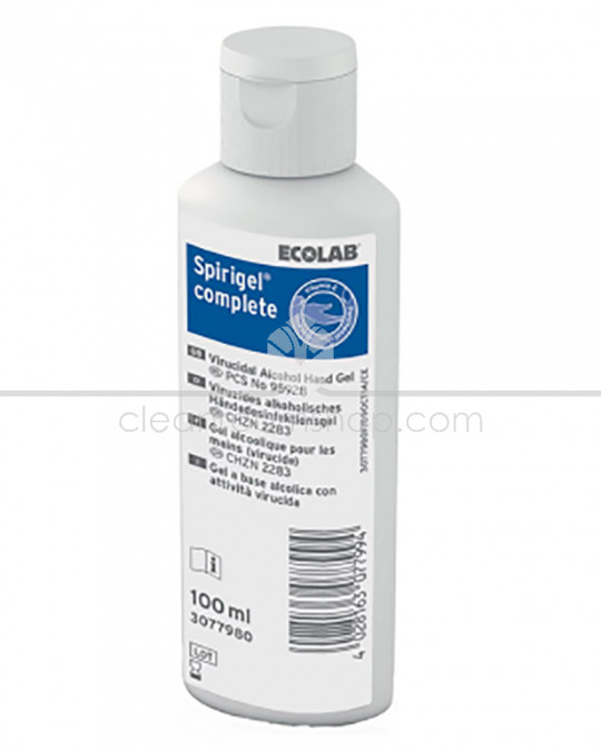Spirigel Complete Alcohol Hand Gel 50 x 100ml bottle