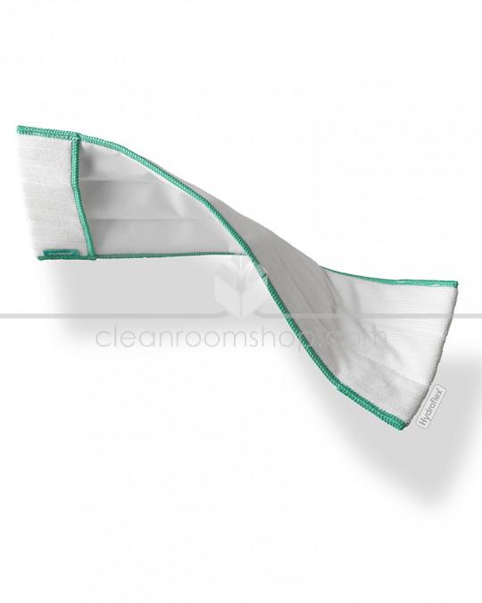 PurMop®Sterile Pre-sat Mop wipe 70/30 IPA/WFI scrub stripe