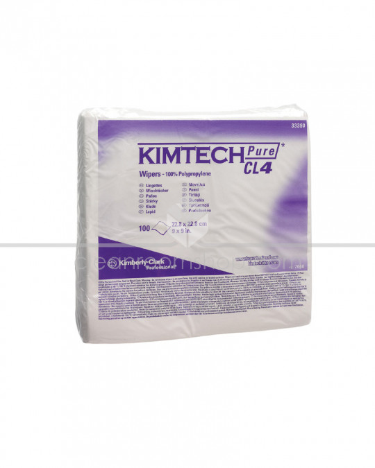 KIMTECH PURE* CL4 Wipers - Dry - Case of 500