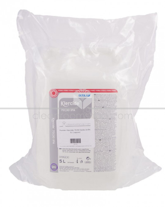 Klercide 70/30 IPA Sterile Capped 4 x 5L
