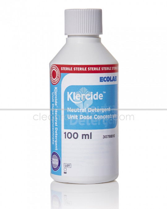 Klercide Neutral Detergent Unit Dose Concentrate 50 x 100ml