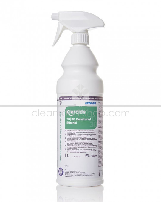 Klercide 70/30 Denatured Ethanol Filtered Spray 1L