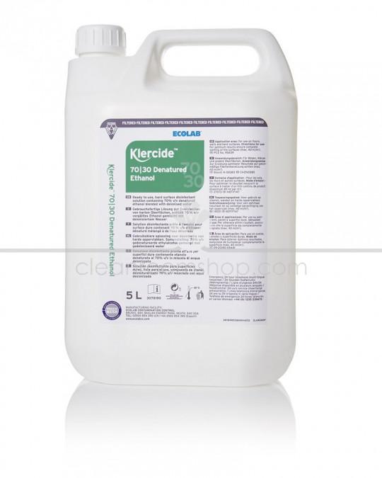 Klercide 70/30 Denatured Ethanol Filtered Capped 5L