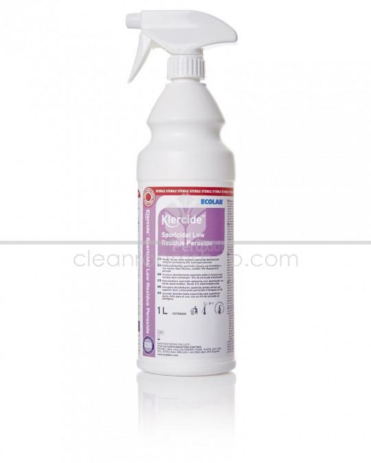 Klercide Sporicidal Low Residue Peroxide Sterile Spray 1L