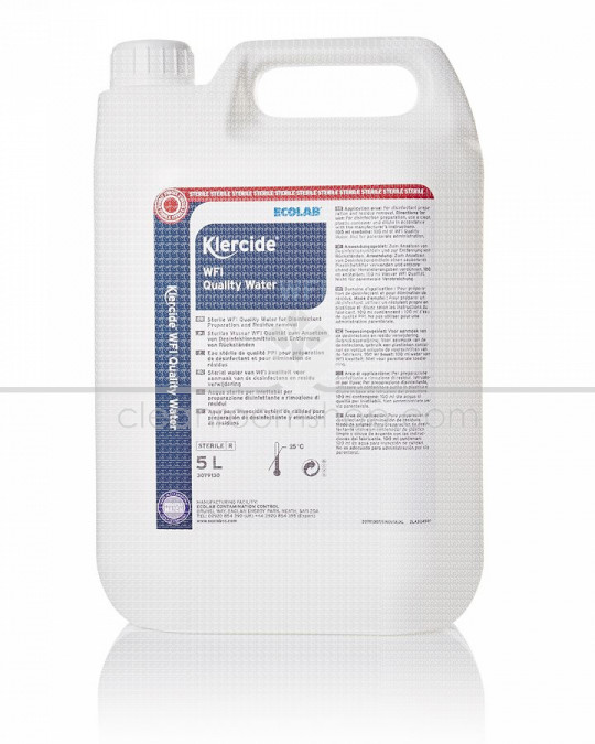 Klercide WFI Quality Sterile Water Capped 5L