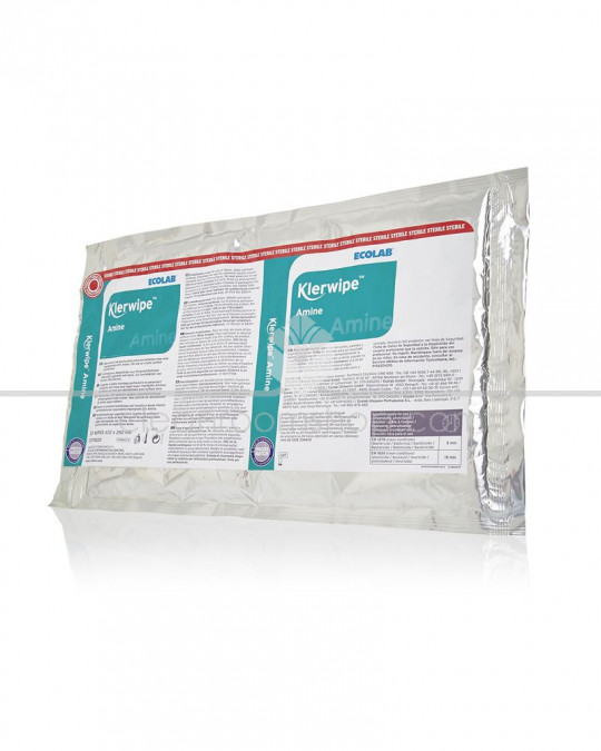 Klerwipe Amine Mop Wipe - 10 Pouches
