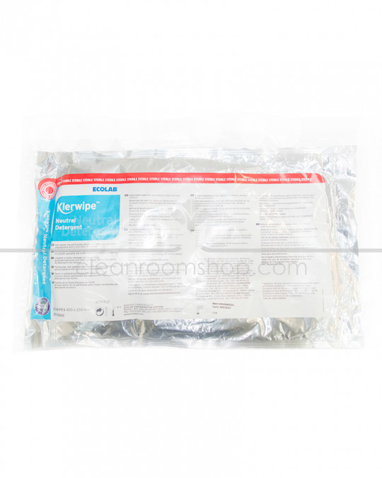 Klerwipe Neutral Detergent Mop Wipe - 10 Pouches