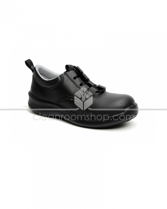 Toffeln SafetyLite Lace Up - Black