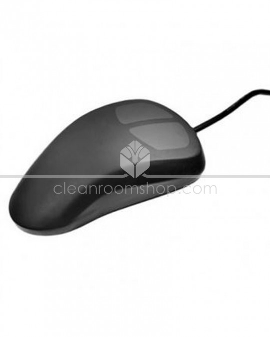 Black Aquapoint Sealed Industrial Mouse USB Interface