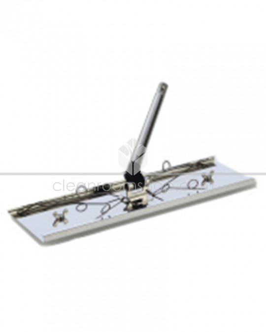 Klercide Stainless Steel Sterile Mop Wipe Frame and Handle
