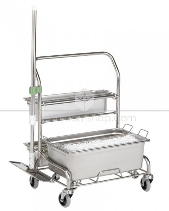 PurQuip® Prepare Uno 311 Cleanroom Mop Trolley