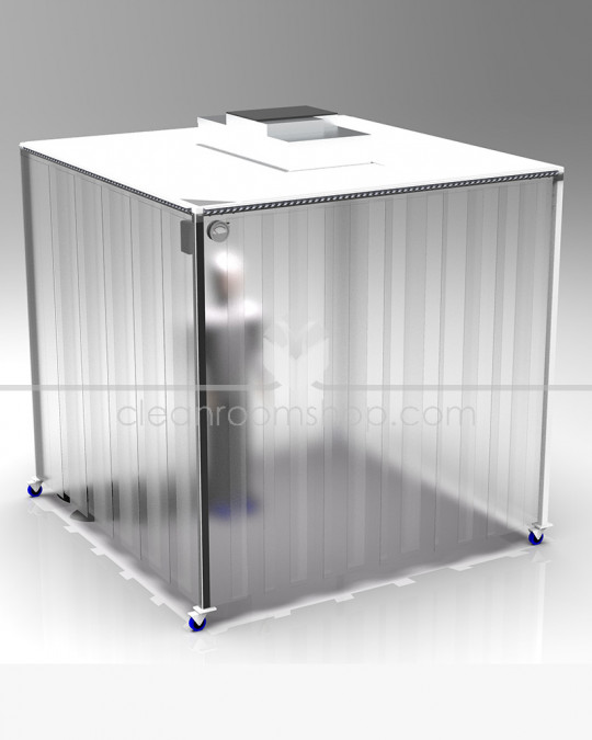 Mobile or Static Cleanroom Master Unit with optional Installation and Validation