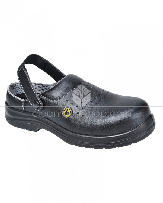 Portwest Compositelite ESD Safety Clog Black
