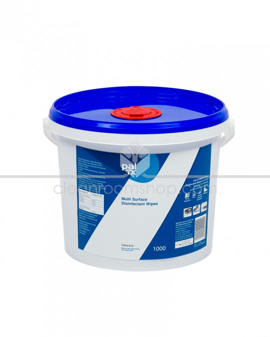 Pal TX Multi Surface Disinfectant Wipes - 1000 Wipe Bucket