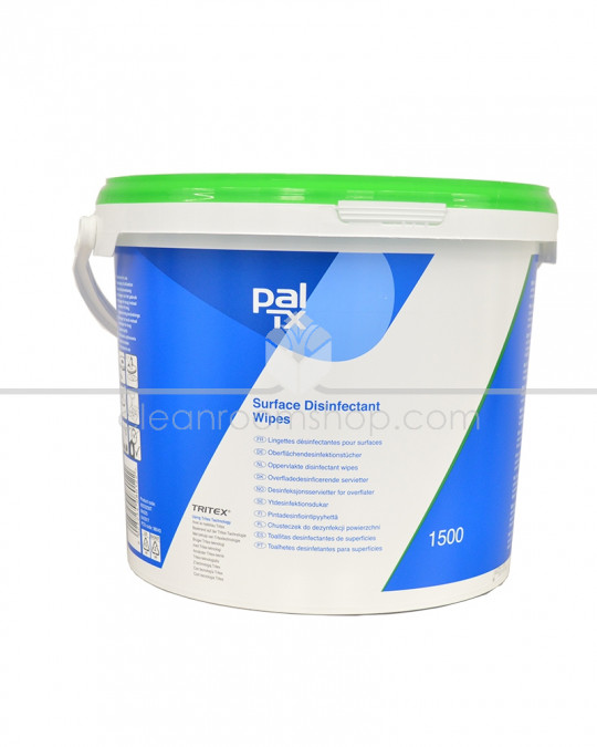Pal TX Surface Disinfectant Wipes - 1500 Wipe Bucket