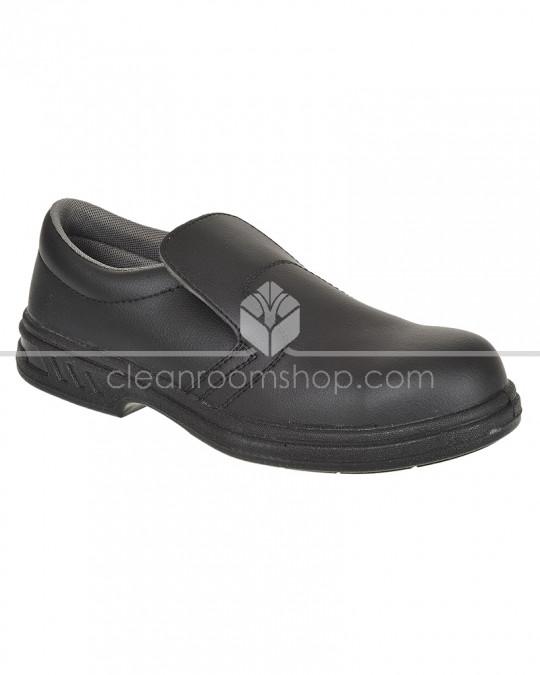 Portwest Steelite Slip on Safety Shoe Black