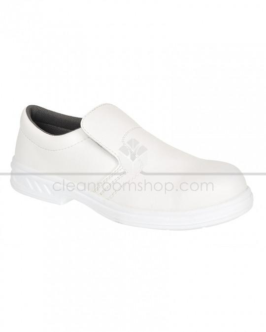 Portwest Steelite Slip on Safety Shoe White