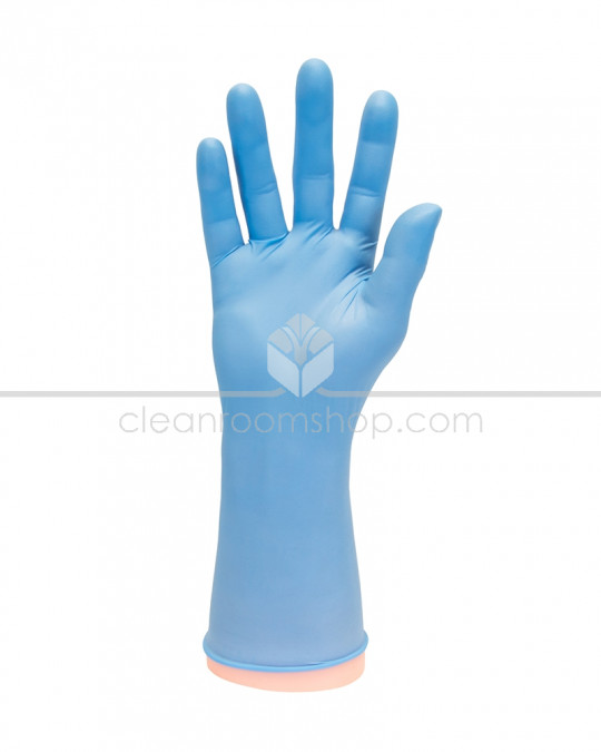 Blue Nitrile Powderfree Glove 30cm