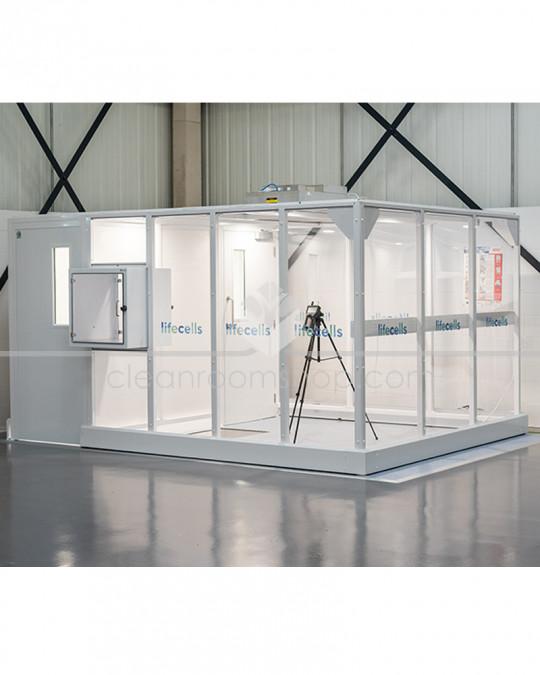 Flooring kits for modular cleanroom range